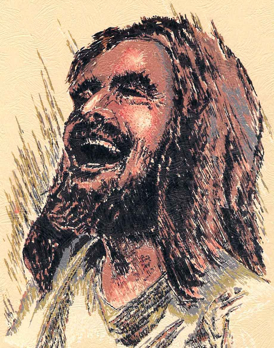 What makes Jesus laugh out loud?