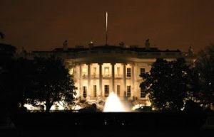 white-house-at-night